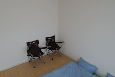 Private Twin Room Guest House with Fluent English - Kita Ward, Okayama - Wohnung