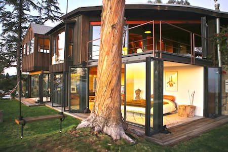 Tree house with 360 views of L.A - Los Angeles - Hus