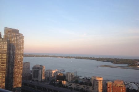 Sun-filled lake view apartment