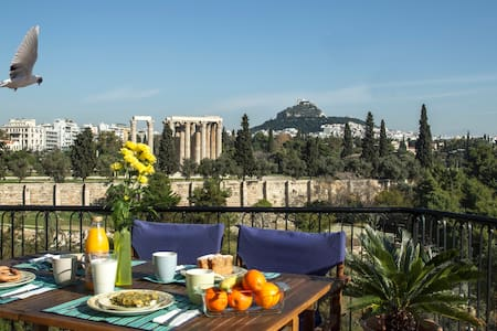 In the center with Amazing view - Athina - Apartment