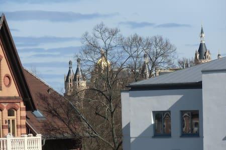 Wohnung am Schloßgarten - Schwerin - Casa