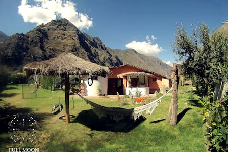 Full Moon Eco Lodge Double Room - Ollantaytambo