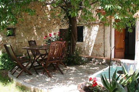 Casa patio de piedra en Biniamar  - Selva