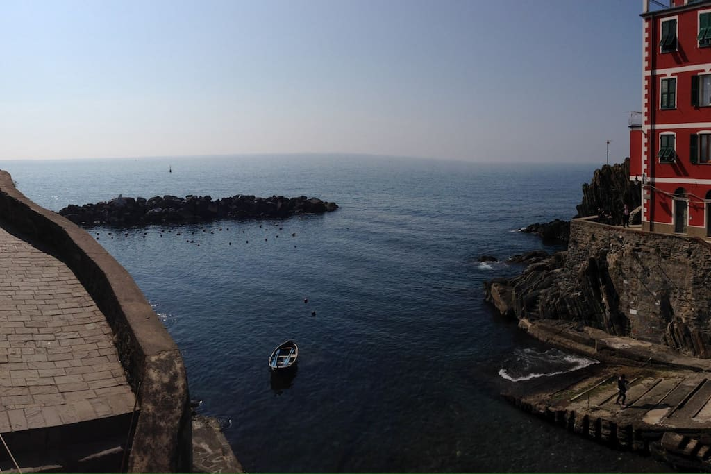Panoramic view from the window in our Giovanna studio