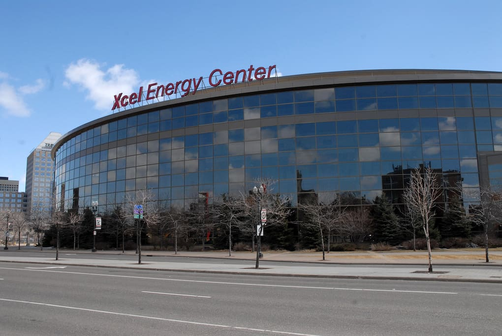 Xcel Energy Center is within walking distance!