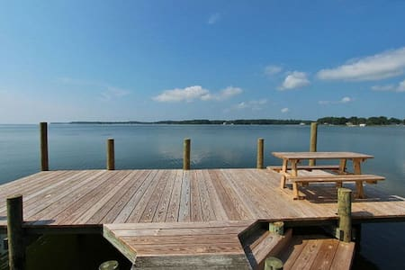 Absolutely stunning Chesapeake bay views - Kilmarnock - Hus