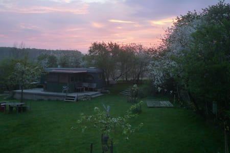Gemütlich entspannen im Bauwagen - Warnow - Wóz Kempingowy/RV