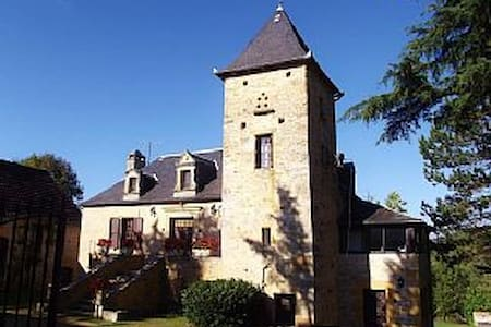 Sarlat 20 mn 2.5 acres with ht.pool - House
