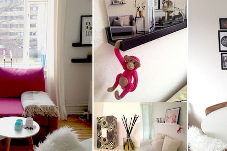 Fully Furnished & Charming 2rm apt. - Frederiksberg - Apartment