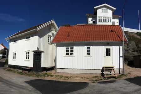Centralt i Grundsund i sydläge - Grundsund