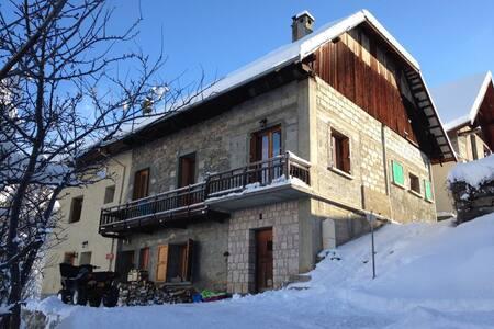 Chalet pour 9 pers retour à ski - Chalupa