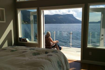 Boathouse on Maple Bay - Duncan