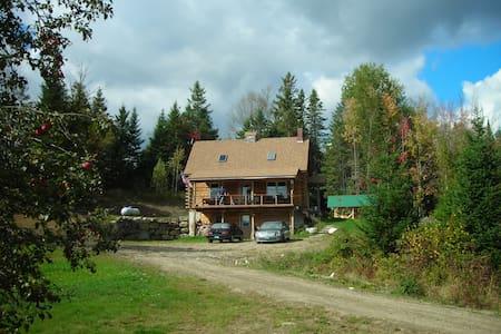Kingdom trail log cabin - Burke