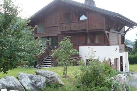 Chambre privée Saint Gervais Mont Blanc - Chalet