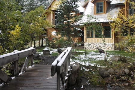 TREEHOUSE SUITE ON SUNDANCE CREEK-B - Sundance - Maison de ville