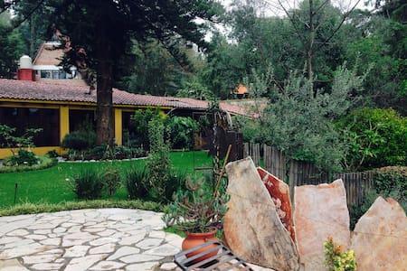 Preciosa casa en el bosque - Villa