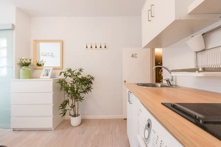 Sunny studio in the heart of Madrid - Madrid - Apartment