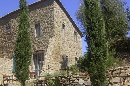 Stilvolles Landhaus mit Olivenhain - Lisciano Niccone - House