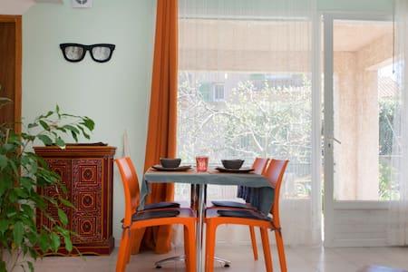 studio terrasse couverte vue mer - Furiani - Apartmen