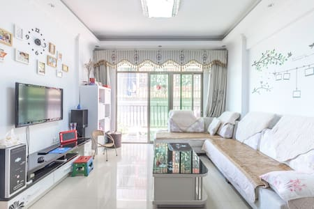 深圳宝安,舒适、温馨的家庭友好型公寓 - Huoneisto