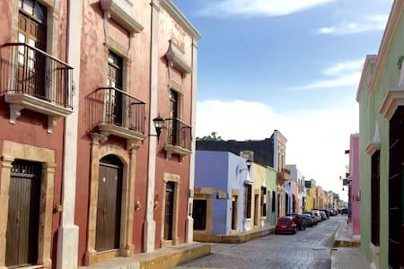 En el corazón de Campeche antiguo - Casa