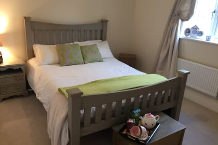 A spacious lovely double room - House