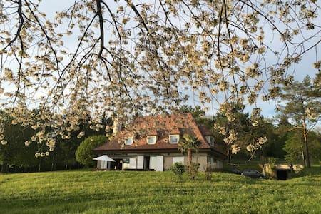 Maison au coeur d'un parc d'1,5 ha avec tennis - Magny-en-Vexin - Hus