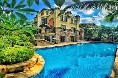 三亚龙缘小墅 二楼次卧 - 龙飞凤翔 奢华别墅的低调享受 私人泳池 热带花园 - Villa