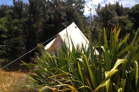 Flax Bush Tent beachfront glamping - Karikari Peninsula - Iurta