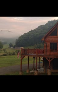 Amazing lodge on the New River - Todd - Cottage