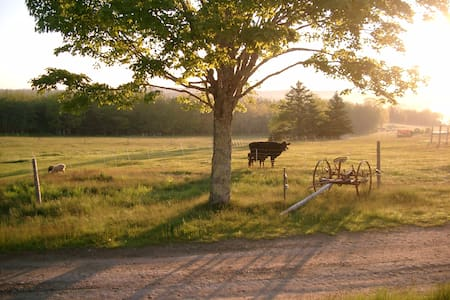 Timberframe Cottage on Organic Farm - Rumah