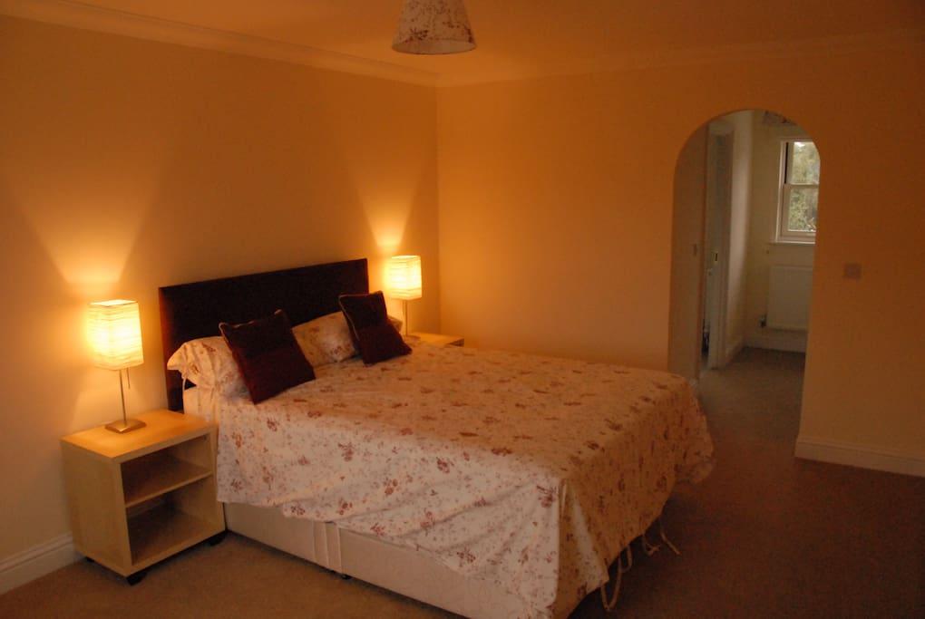 Main bedroom with en-suite beyond
