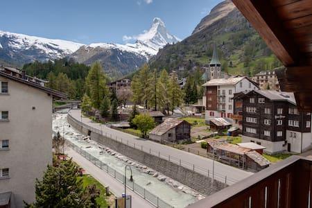 Dachwohnung Favorita mit Matterhornblick 2-4 Pers. - Zermatt - Lägenhet