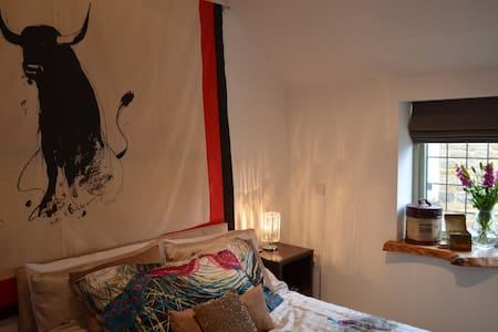 Pretty Double Room in Fern Cottage - Hus