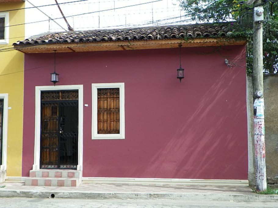 house for rent in granada nicaragua: