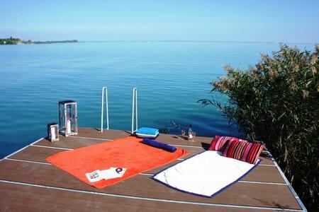 Balaton Beachfront Haven - Csopak - House