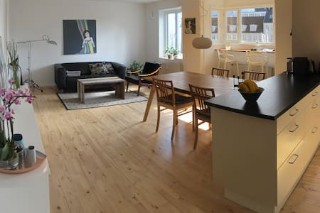 Spacious and bright apartment.
