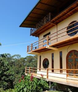 Beautiful house on Eco Yoga Farm! - Tena - Rumah Tamu