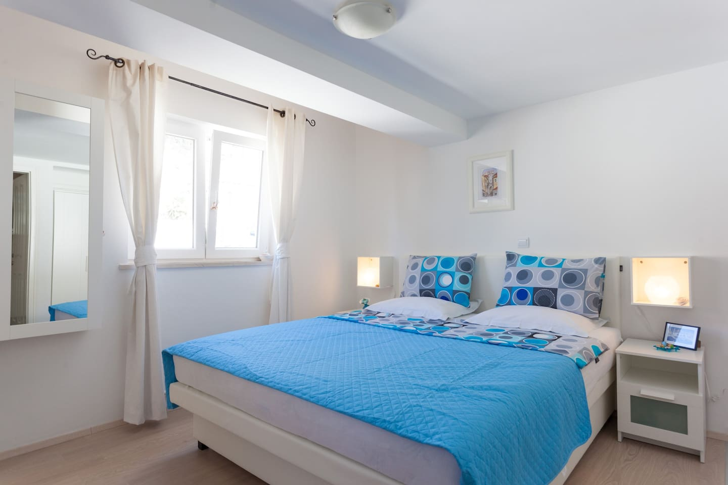 King size double bed for perfect rest