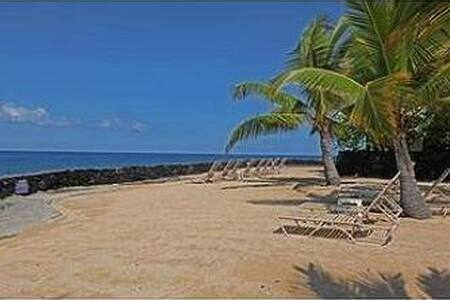 This unit is in immaculate condition. Cool tile floors, decorated in warm island colors with tropical decor. There are peaceful views into the garden & partial ocean vistas from the private lanai. Pls add HI taxes 13.416% plus sec protect plan 49.00