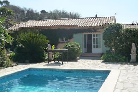 Charmant cottage jardin piscine - Mougins - House