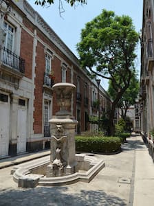 """Come to stay in """"Privada Mascota"""" an iconic building from 1900 You'll have your own stylish room with doble bed, tv, closet and mini bar Located a few blocks from """"Reforma"""", """"Down Town"""" and all the trendy life from """"la Roma"""" y """"Condesa"""""""
