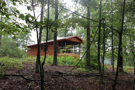 Cabin in the woods with mountain views - Nellysford - House
