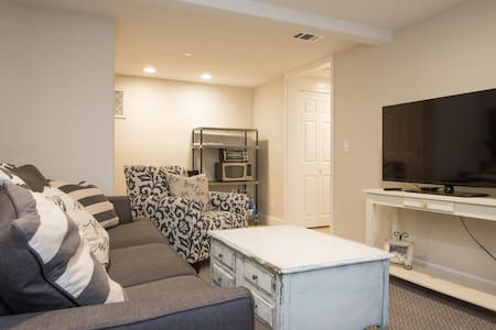 Clean and Private Studio Basement - Palo Alto - House