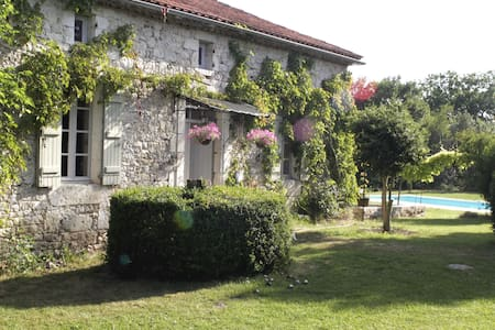 Romantic Farmhouse S - W France - House