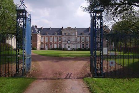 Magnifique château des 17 et 18  - Grand-Rullecourt - Bed & Breakfast