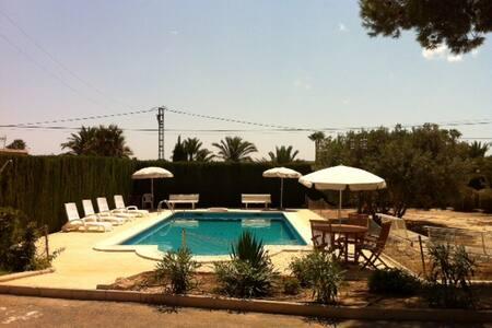 SANTA POLA ELCHE CHALET, piscina privada, barbacoa - Elche