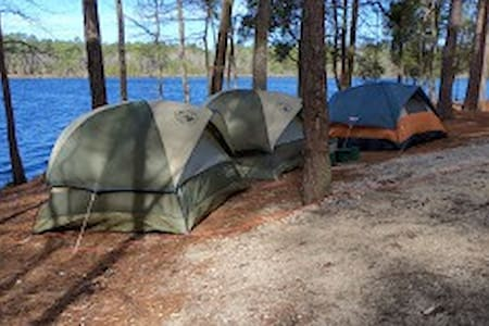Camping in the Carolinas! - Ruby - Tent