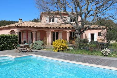 Villa in the shade of Green Oaks - Seillons source d'Argens
