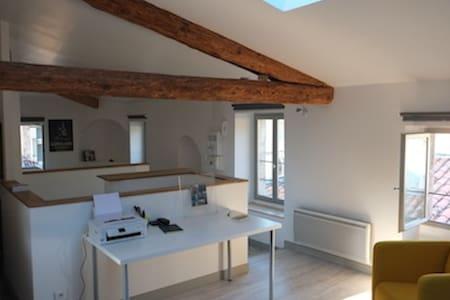 Joli petit loft en centre ville - Lodève